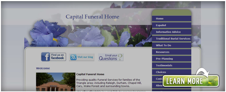 effective provider for funeral parlors , Pittsboro